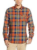 Springfield Camisa Hombre (Naranja)