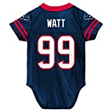 NFL Houston Texans Player Name and Number Onesie Replica Jersey