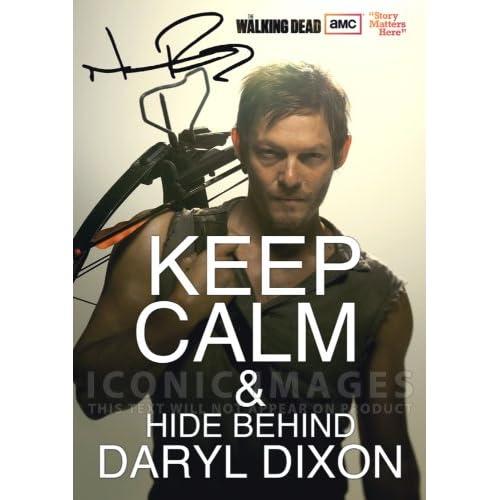 The Walking Dead Tv Print (11.7 X 8.3) Signed (Pre-print Autograph