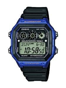 Casio - AE-1300WH-2AVEF - Collection - Montre Homme - Quartz Digital - Cadran Noir - Bracelet Résine Noir
