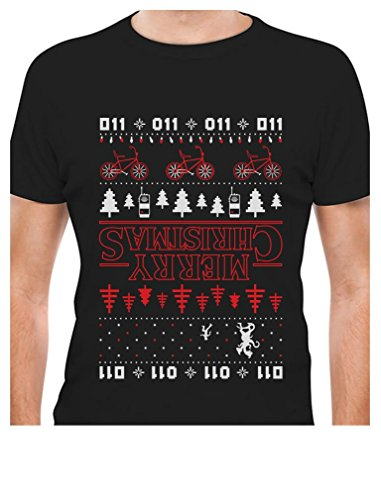 The Upside Down Ugly Christmas T-Shirt