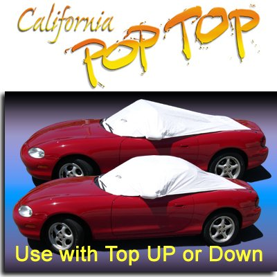 1990-2005 MIATA DuPont Tyvek PopTop Sun Shade, Interior, Cockpit, Car Cover. Use with Top UP or Down - SEMA SHOW NEW PRODUCT AWARD WINNER - 1990,1991,1992,1993,1994,1995,1996,1997,1998,1999,2000,2001,2002,2003,2004,2005