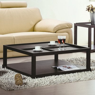Parson Coffee Table With Removable Tray front-1023312