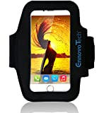 "[TOP RATED] iPhone 6, 6s 4.7 Armband - VoFit By EnnoVoTech- Sport Armband Case for iPhone(6 & 6s 4.7"" , 5 and 5s) And iPod with Key Holder Pocket, Fully Adjustable, Easy Earphone Connection, best for Gym, Sports Fitness, Running, All Kinds of Workouts - for Man and Woman (Black)"
