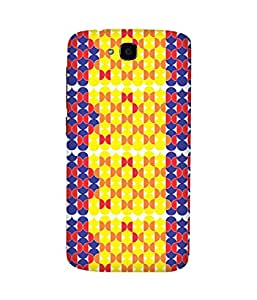 Stripes And Elephant Print-76 Huawei Honor Holly Case