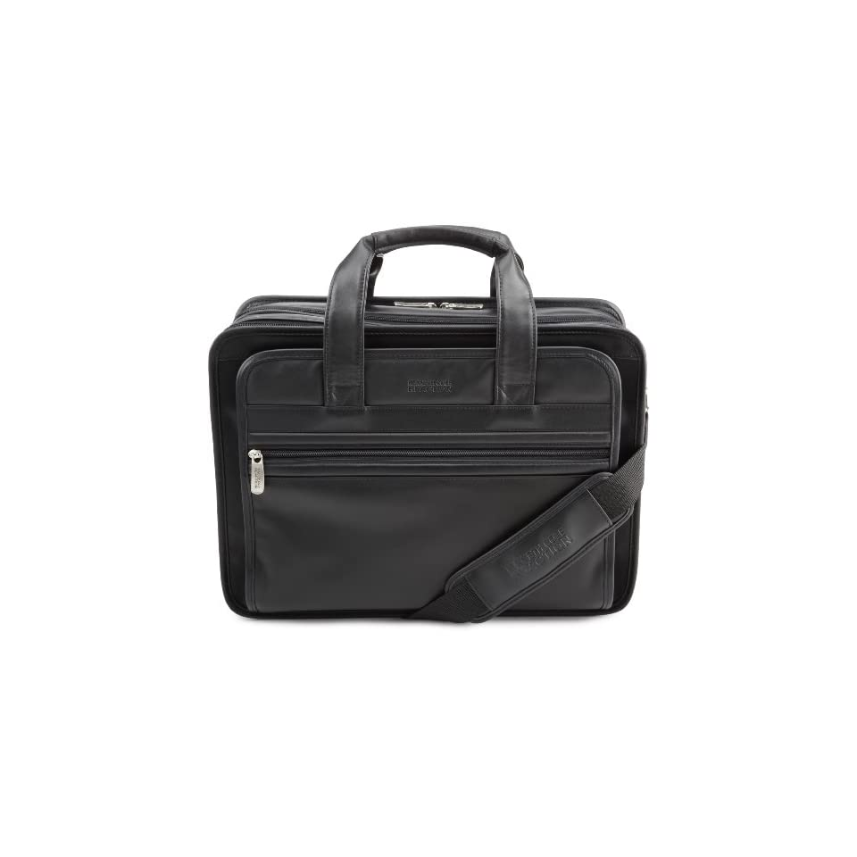 Kenneth Cole Reaction Luggage Double Occupancy Gusset Suitcase, Black, One Size