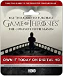 Game of Thrones : Season 5 [Live Card...
