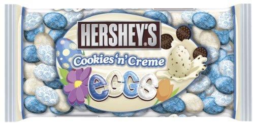 Hershey's Easter Cookies 'n' Creme Eggs, 10-Ounce