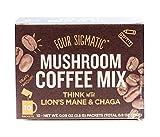 Four Sigmatic Mushroom Coffee with Lion's Mane & Chaga (10 Count) - Paleo, Vegan - Concentration & Focus