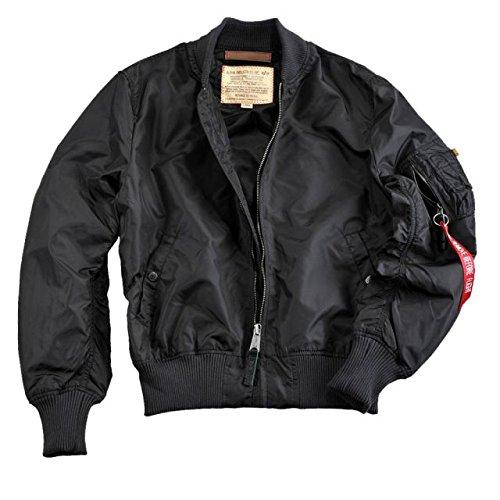 Alpha Ind. Jacke MA-1 TT – black NEU online bestellen