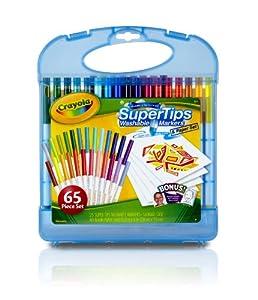 Crayola - 04-5226-E-000 - Mallette De Feutres À Dessiner Lavables