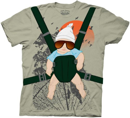 The Hangover Alan Baby Bjorn With Graphic Human Tree Costume T-Shirt