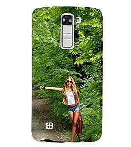 EPICCASE Lift Please Mobile Back Case Cover For LG K7 (Designer Case)