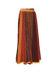 Sttoffa Womens Cotton Skirts -Multi-Colour -Free Size - B00MJO88O0