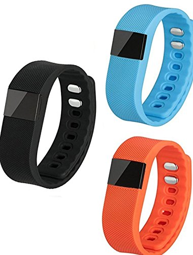 Alpha HB70 Smart Fitness Band with Two colour Straps free