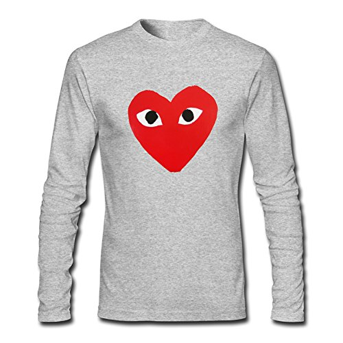 CDG PLAY COMME des GARCONS For Boys Girls Long Sleeves Outlet