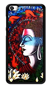 """Humor Gang Buddha Art Printed Designer Mobile Back Cover For """"Huawei Honor 6"""" (3D, Glossy, Premium Quality Snap On Case)"""