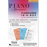 Faber Music Piano Adventures FlashCards In-A-Box (Primer Level Through 2A Elementary) - Faber Piano (Standard)