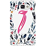 AMAN Pattern J 3D Back Cover For Samsung Galaxy A7 2016