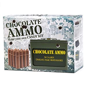 Chocolate Ammo Candy Making Kit