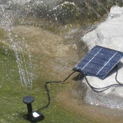 Solar Power Fountain Pond Pool Water Pump Kit