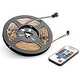 マジック LEDテープライト 5M 光が流れる RGB 300leds リモコン操作 SMD5050 LEDテープ 間接照明 led