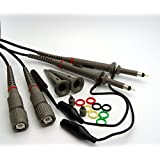 Homeself 100 MHz Oscilloscope Clip Probes with Accessory Kit (Pack of 2)