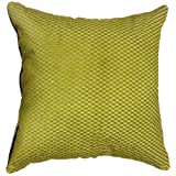 "That's Perfect! Luxury Fabric 18""x18"" Decorative Silk Throw Pillow Sham - COVER (Laurel Green)"
