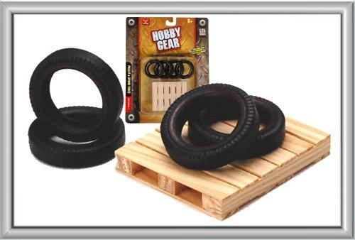 Hobby Gear - 1:24 Scale Mini Pallet & Tire Model Set