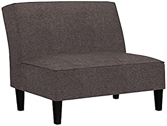 angelo:HOME Randolph Parisian Smoky Gray Settee