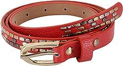 SRI Women's Belt Red