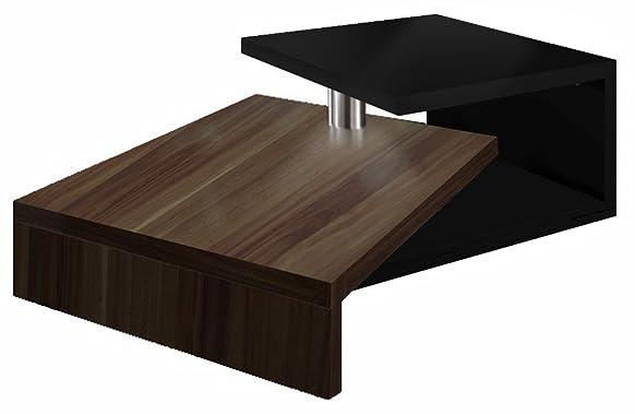 Regalwelt Turny Tavolo basso di design, colore: nero brillante Nussbaum Glanz