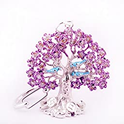 Feng Shui Ngan Chi Wealth Tree Amulet Keychain W Free Fengshuisale Red String Bracelet W0982