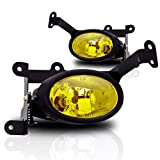 2006-2008 Honda Civic 2Dr Yellow Lens OE Style Fog Lights With Wiring Kit