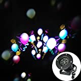 LEEPO Balloon Pattern Decoration LED Waterproof Light For Home Stage Party Outdoor/ Indoor Multi Color