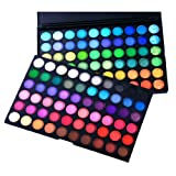 FASH Professional Bold, Bright and Vivid 120 Color Eyeshadow Palette Makeup Cosmeticsby FASH Limited
