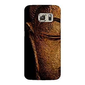 Luxirious Lord Buddha Multicolor Back Case Cover for Samsung Galaxy S6 Edge