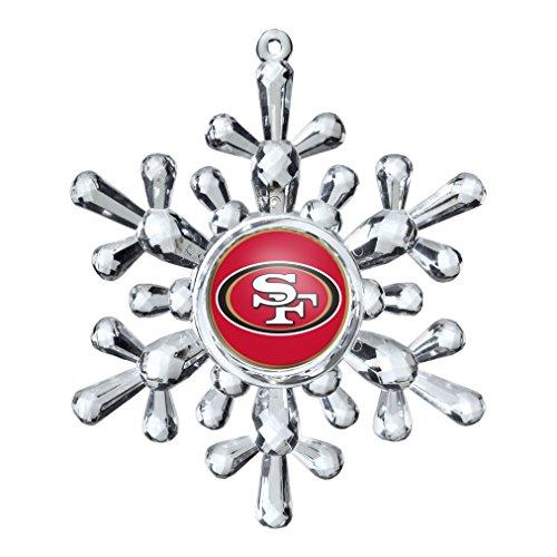 NFL San Francisco 49ers Snowflake Ornament