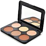 Prolux Professional 6 Color Makeup Cosmetic Contour Powder Palette-K025