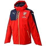 Puma Mens Arsenal Performance Rain Jacket Red S