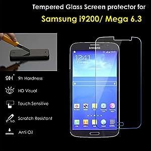 Set Of 5 Tempered Glass For Samsung Galaxy Mega 6.3 I9200 Screen Protector Guard
