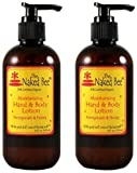 The Naked Bee Pomegranate Honey Moisturizing Hand and Body Lotion 8 Oz. Pump (2)