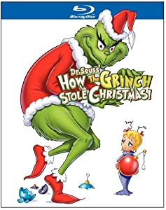 Dr Seuss How The Grinch Stole Christmas Blu-ray from Warner Home Video