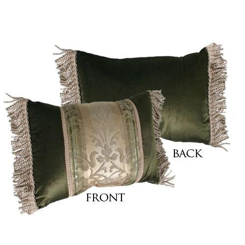 Croscill Kensington Decorator Boudoir Pillow front-897692