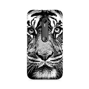 Ebby Tiger Close Up Premium Printed Case For Moto G3