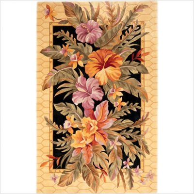 Catalina Black Orchid Paradise Rug Size: 30