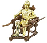 Star Wars Saga Collection #42 C3PO With Ewok Throne