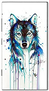 Outstanding 3D multicolor printed protective REBEL mobile back cover for Nokia 920 - D.No-DEZ-2603-n920