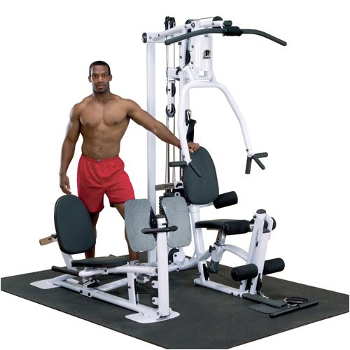Powerline P1X Single Stack Home Gym front-756189