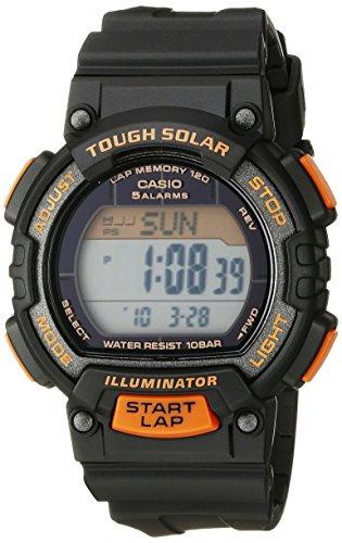 Casio Women's STL-S300H-1BCF Solar Runner Digital Display Black Watch